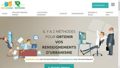 Site internet de Terranota