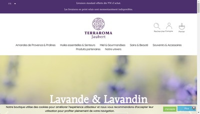 Site internet de Terraroma