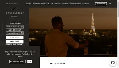 Site internet de Societe Nouvelle du Terrass Hotel