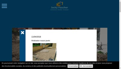 Site internet de Foucher Jacky SARL