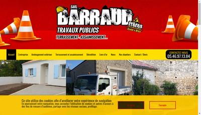 Site internet de Barraud Freres