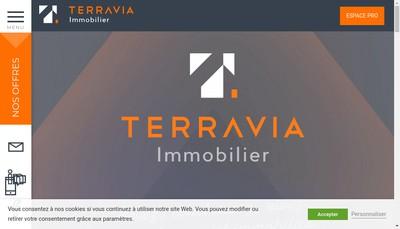 Site internet de Terravia