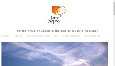 Site internet de Terre@Psy