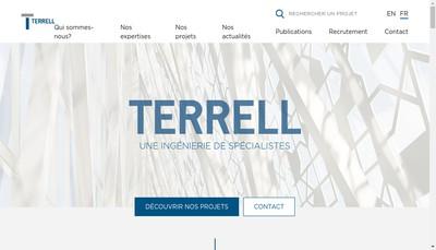Site internet de Terrell Group