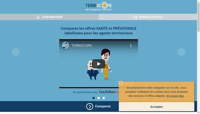 Site internet de Terriscope