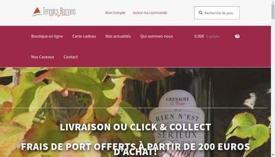 Site internet de Les Vignerons d'Elne