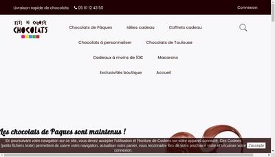 Site internet de Tete de Cabosse