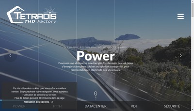 Site internet de Tetradis