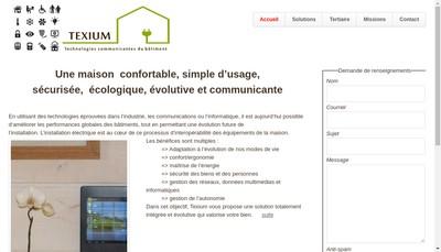 Site internet de Cadex