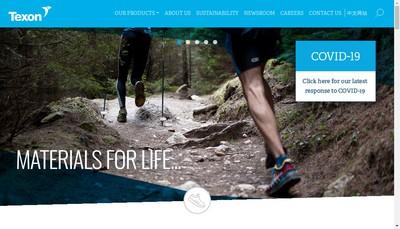 Site internet de Texon France