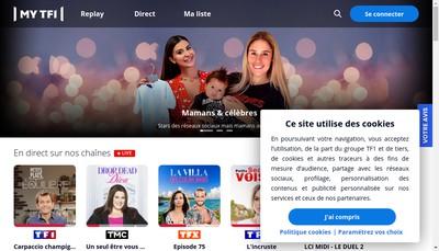 Site internet de Television Francaise 1
