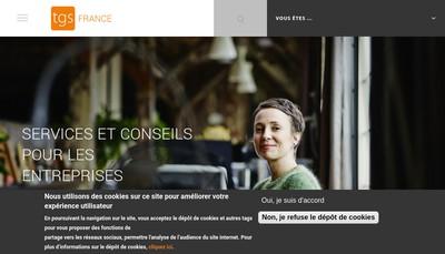 Site internet de Tgs France