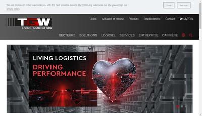 Site internet de Tgw France SAS