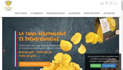 Site internet de Thaas Chips