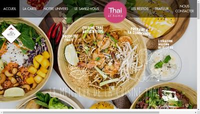Site internet de Thai At Home France