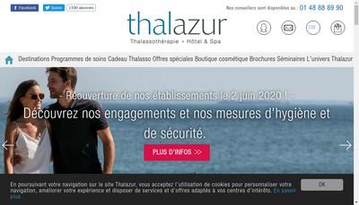Site internet de Hotel Riva Bella Thalassotherapie T Halazur