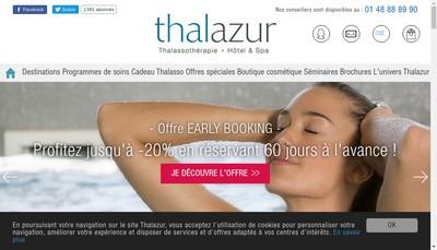 Site internet de Hotel Cordouan Thalazur Royan
