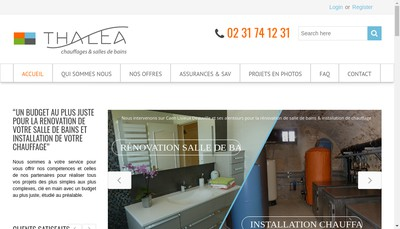 Site internet de Thalea