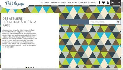 Site internet de The a la Page