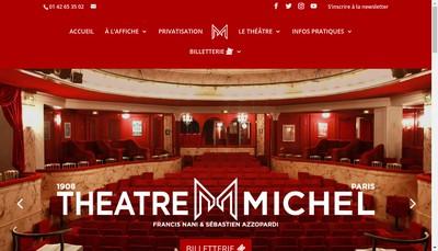 Site internet de Societe a Theatre Michel