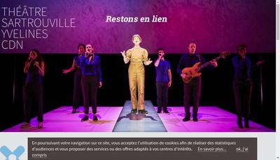 Site internet de Theatre de Sartrouville