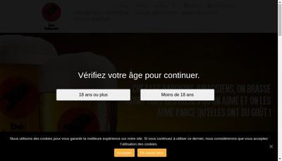 Site internet de Brasserie des Babouins Jurassiens