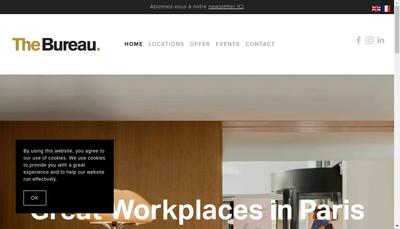 Site internet de The Bureau