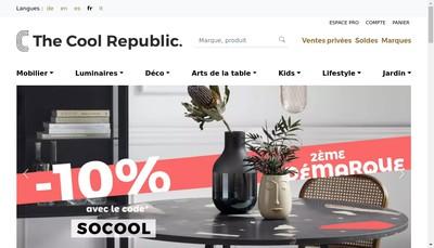 Site internet de The Cool Republic