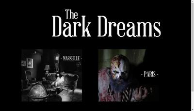 Site internet de Dark Dreams