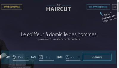 Site internet de The Haircut