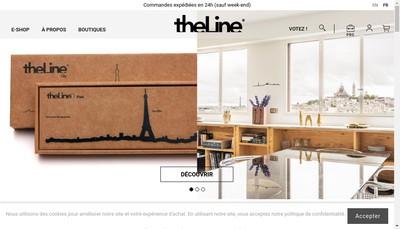 Site internet de The Line