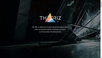 Site internet de Theoriz Studio
