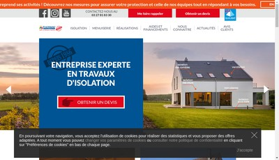 Site internet de Thermie France Sepaeb Lowcalbat
