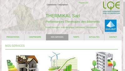 Site internet de Thermikal