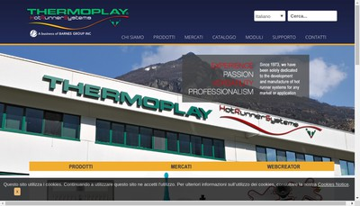 Site internet de Thermoplay France