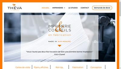 Site internet de Théva La Fabrique