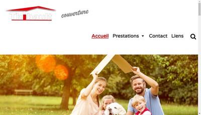 Site internet de Thibault Couverture SARL