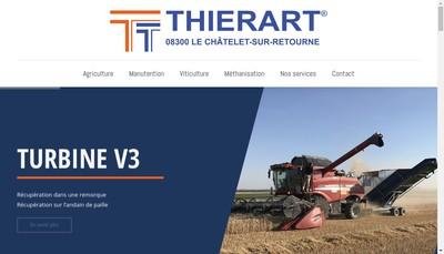 Site internet de Etablissements Thierart