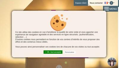 Site internet de Delprat Participations