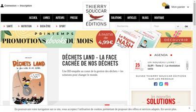 Site internet de Thierry Souccar Medias