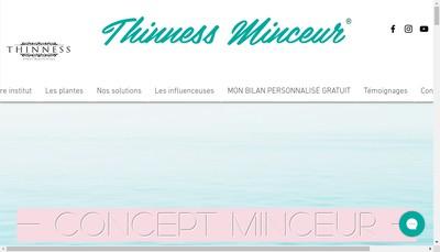 Site internet de Institut Thinness Concept