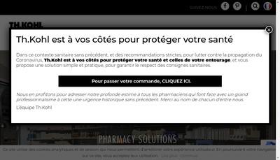 Site internet de Th Kohl France