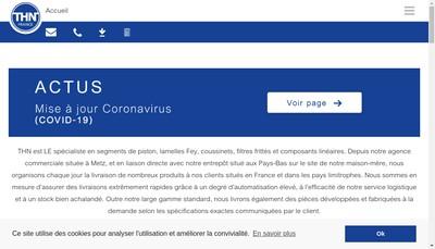 Site internet de Thn France