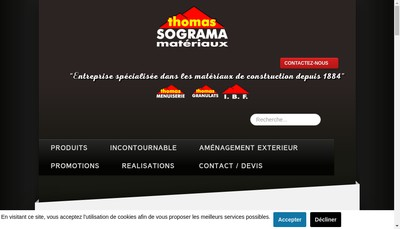 Site internet de Docks du Gier