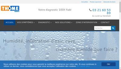 Site internet de Thome Humidite