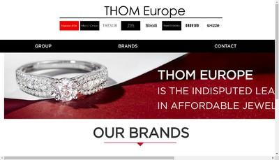 Site internet de Thom Group