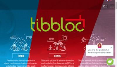 Site internet de Tibbloc