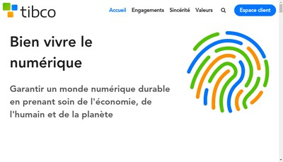 Site internet de Tibco
