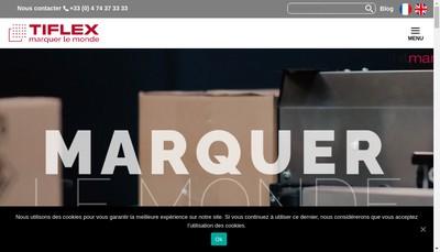 Site internet de Etablissements Tiflex