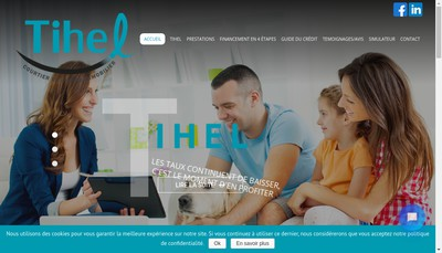 Site internet de Tihel